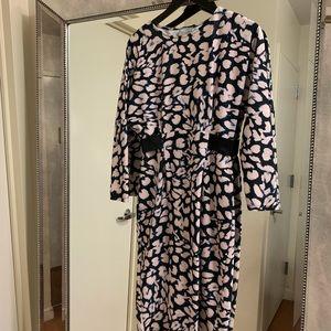 ASOS Print Midi Dress